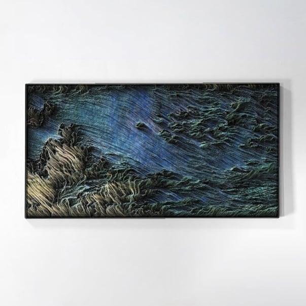 Mare e Vento artista Matteo Mauro