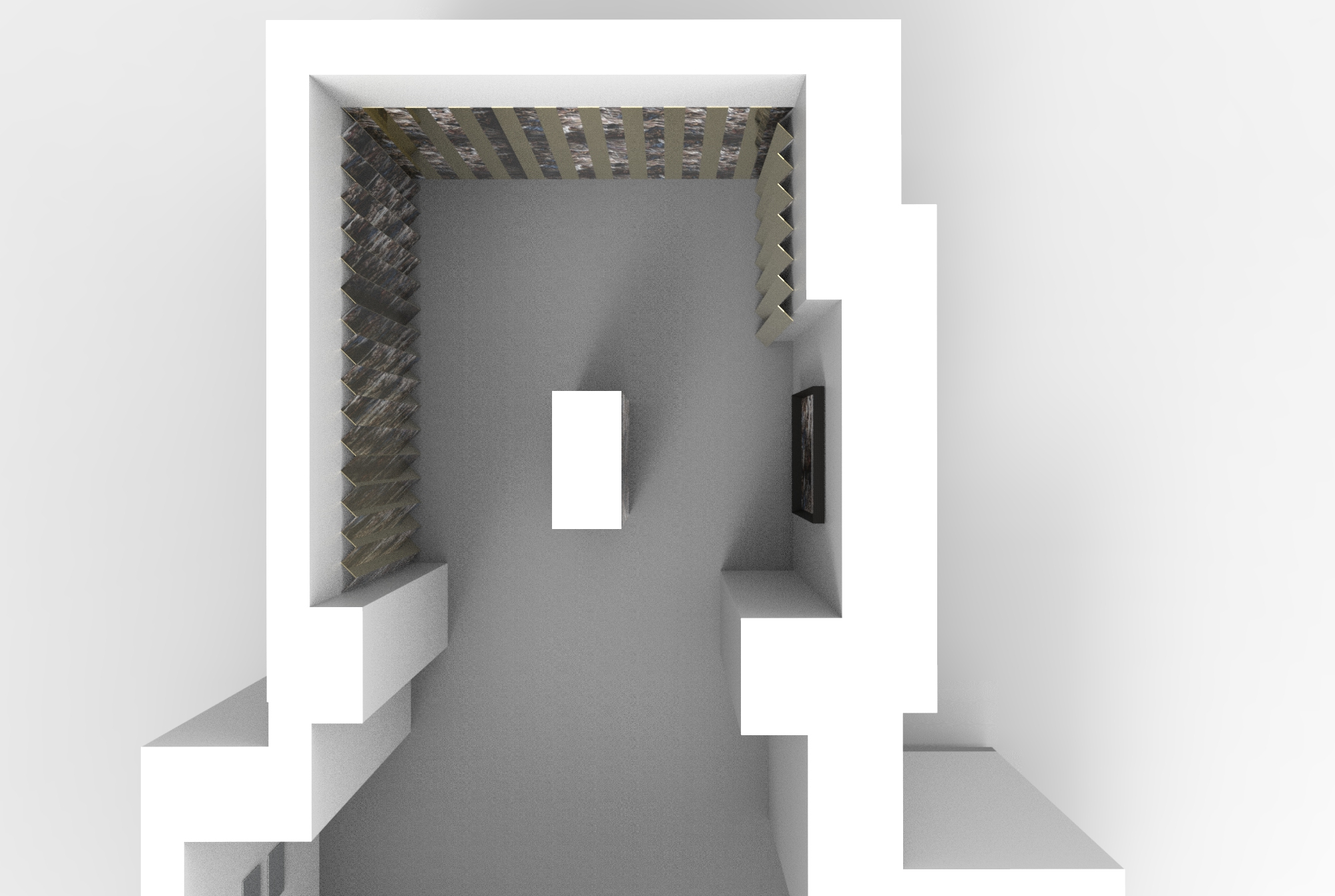 Matteo Mauro - My First Hall of Mirrors - Render (1)