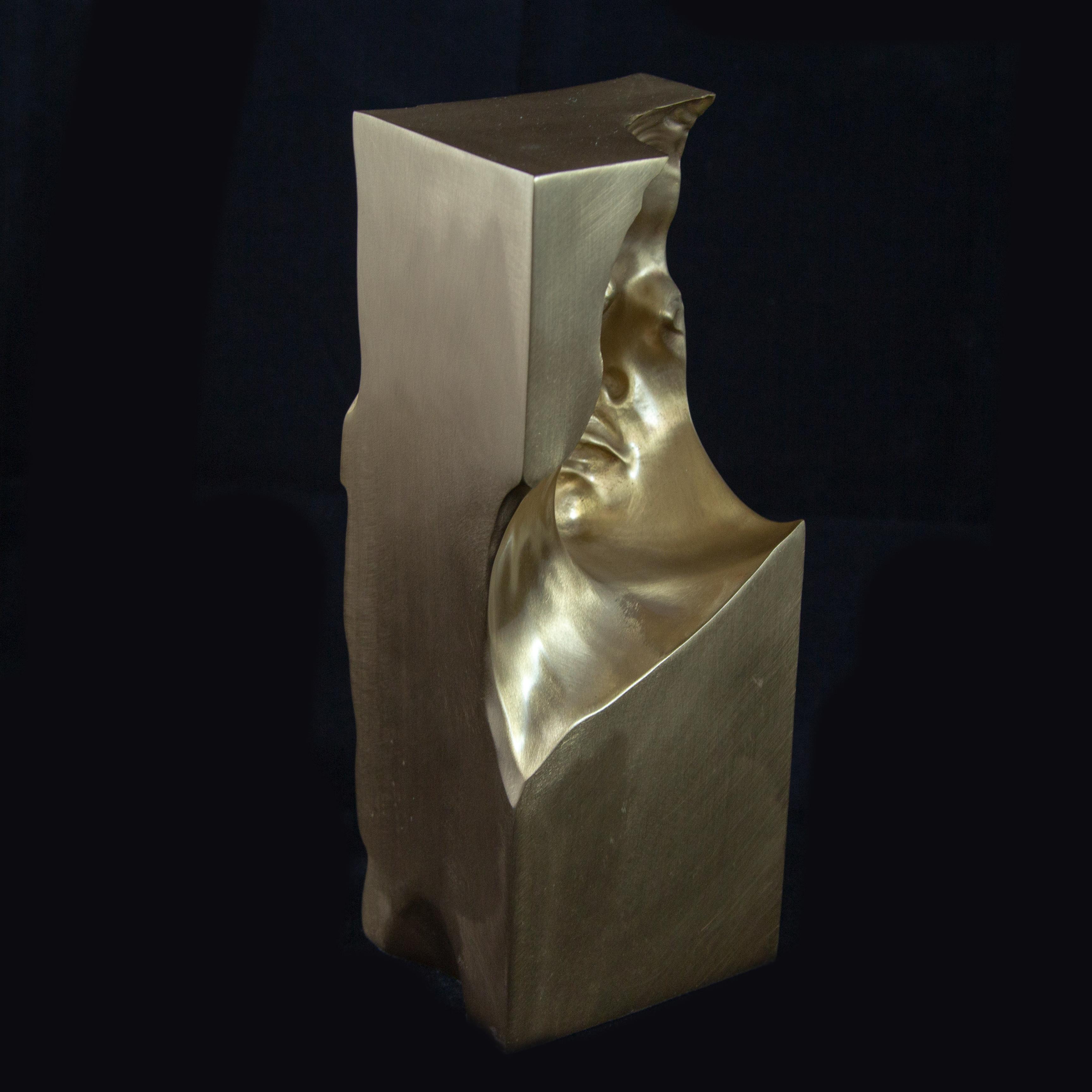 Matteo Mauro - Raw Bronze Sculpture